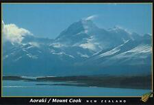 AORAKI MOUNT COOK NEW ZEALAND POSTCARD -  SOUTHERN ALPS of NZ PC