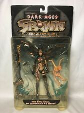 Spawn Dark Ages series 11 The Skull Queen Todd McFarlane's  Toys