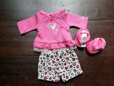 American Girl Doll Pajamas Lovely Leopard New in Ag Box