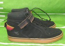 New 13 Adidas Originals Men ADIRISE AR Shoes Canvas Black Gum G478 Size 10
