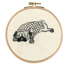"DMC Embroidery Kit  ""Doug Dozing"" Hoop included"