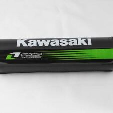 "Deluxe Black Kawasaki Crossbar Protection Sponge Foam Pad 7.9"""