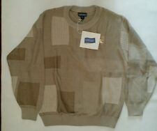"""Men's sweater 100%Cotton size L Regular by """"Land's End"""" New!"""