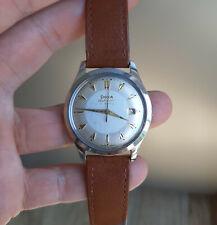 Vintage Doxa 21 Jewels Automatic Steel Watch 1957 Swiss