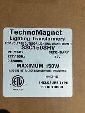 Technomagnet Outdoor Lighting Transformer SSC150SHV 277volt - 12volt 150watt