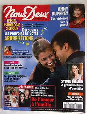 Photoromans NOUS DEUX 28/10/2003; Interview Anne Duperey/ Sylvie Tellier