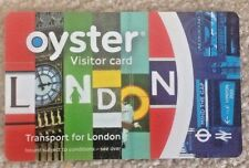 LIMITED EDITION VISITORS OYSTER CARD - READY FOR TRAVEL IN LONDON