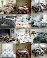 Duvet Quilt Cover With Pillow Case Home Bedding Set All Sizes Available