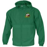 Men's University of Oregon Ducks Jacket Full Zip Windbreaker Jacket