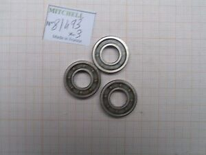 3 Rollers 498 & Other Reels MITCHELL Steel Basketball Bearing Real Part 81493