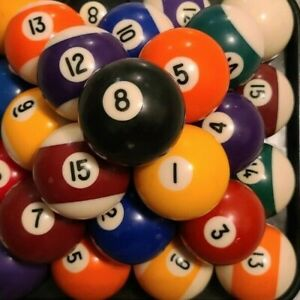 "Replacement Vintage Billard Pool Ball 2 1/4"" Standard Regulation"