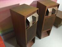 JBL  C52 Opus Speakers (original Blue Components ) w / Custom Stands