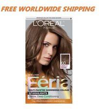 L'Oreal Paris Feria Hair Color 60 Light Brown Hairstyle Fashion FREE WORLD SHIP