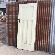 High Waist 4 panel Internal Bungalow Style Door 810w X 2010h X 35d