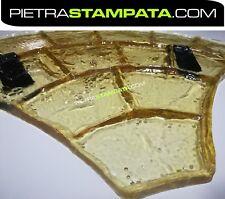 STAMPO per pavimento cemento  stampato FINTA PIETRA Concrete texture stamp mat