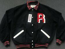Vtg NWT Seattle Rainiers varsity jacket letterman bomber jersey hat beer 2XL XXL