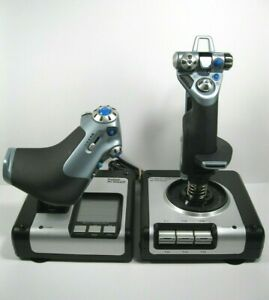 Logitech Saitek G X52 HOTAS Flight Control System for Flight Simulator