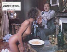 SEXY VERONIQUE GUILLAUD EDUCATION ANGLAISE 1983 VINTAGE LOBBY CARD ORIGINAL