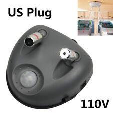 Universal Car Dual Laser Motion Activated Parking Assistant Sensor 110V US Plug