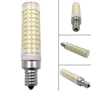 E12 Ceramics Lamp Light 136-2835 SMD LED Bulb White/Warm 10W Equivalent 100W