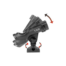 Scotty 230 Powerlock Rod Holder Side Deck Mount Black