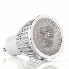 GU10 3 LED Lampe High Power Strahler dimmbar 6W Warmweiss 220-240V GY