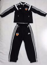 VALENCIA BLACK PRESENTATION SUIT BY ADIDAS SIZE BOYS SIZE 9-10 YEARS BRAND NEW