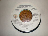 George Benson 45 Love Ballad PROMO WARNER BROS