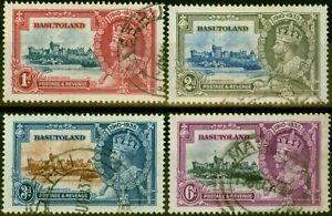 Basutoland 1935 Jubilee Set of 4 SG11-14 Fine Used