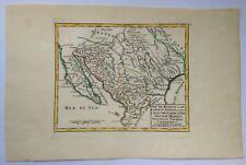 LOWER CALIFORNIA TEXAS NEW MEXICO 1749 ROBERT DE VAUGONDY ANTIQUE MAP