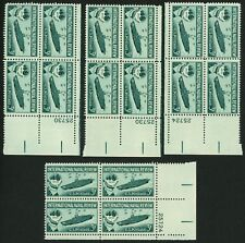 1957 3c US Postage Stamps Scott 1091 International Naval Review Lot of 16