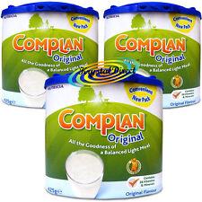 3x Complan Original Nutrition Vitamin Supplement Protein Energy Drink 425g