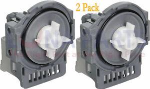 2 Pack DD31-00005A Dishwasher Drain Pump for Samsung PS4222308 AP4342621
