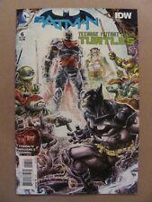 Batman Teenage Mutant Ninja Turtles #6 DC IDW 2015 TMNT 1st Print 9.6 Near Mint+
