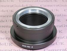 M42 Objektiv zu Nikon Z Objektiv Mount Adapter m42-Nikon Z für Nikon z50, z7, z6 Kamera