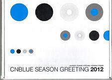 CNBLUE / SEASON GREETING 2012 CALENDAR PACKAGE add PLANNER,POSTCARD, STICKER