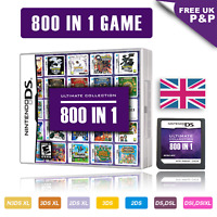 800 in 1 Video Games Cartridge Pokemon Card For DS NDS NDSL NDSi 2DS 3DS UK