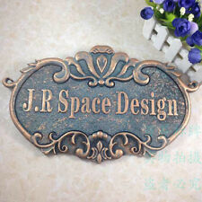 """Custom made House sign hotel Address Plaque 4.3""""X7"""" Plate Sign"""