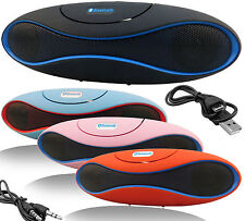 CASSA PORTATILE SPEAKER SD USB BLUETOOTH V2.1 WIRELESS MP3 ALTOPARLANTE PC