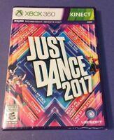 Just Dance 2017 (XBOX 360) NEW