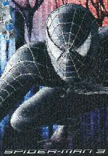 """BLACK SPIDERMAN"" 3 Cartoon Comic Movie Photomosaic BOXLESS Jigsaw Puzzle *NEW*"