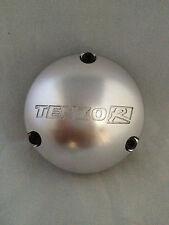 NEW TENZO R RACING SINKO PSYCHO BRUSHED SILVER DC-0093/2 WHEEL RIM CENTER CAP