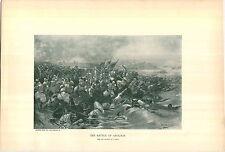 1897 Napoleon Bonaparte The Battle Of Aboukir PRINT By U. Checa