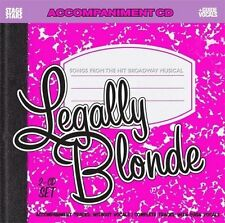 Legally Blonde, Songs from the Broadway Musical /Accompaniment CD, Karaoke