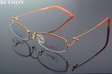 Women Fashion Lightweight Brown Eyeglass Frames myopia Glasses Optical Rx able