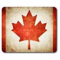 Computer Mouse Mat - Canada Flag Canadian Travel Office Gift #3165
