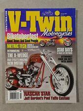 V-Twin Motorcycles Magazine February 2007 - Biketoberfest - Paul Yaffe Custom