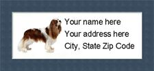 """Cavalier KC Return Address Labels  - Personalized """"BUY 3 GET ONE FREE"""""""