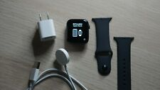 Apple Watch Series 5 44mm Black Gray Aluminium Case with Black Bands - BRAND NEW
