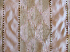"""Gorgeous Lee Jofa Embroidered Fabric """"CHARTERIS"""" in Spring 4+ Yards"""